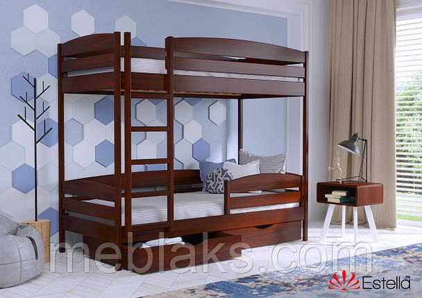 Двухъярусная кровать Дует Плюс 80х190 108 Масив 2Л25, фото 2