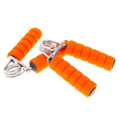 Эспандер кистевой World Sport с неопреновыми ручками оранжевые, 2 шт