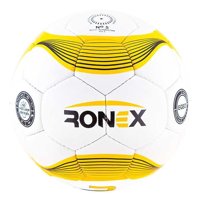 М'яч футбольний Grippy Ronex-JM1, жовтий.
