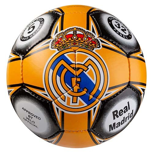 М'яч футбольний Ronex Grippy G-14 RM, оранж/чорний