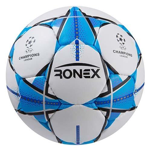 Мяч футбольный Grippy Ronex FN1, голубой