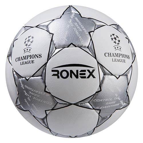 М'яч футбольний Grippy Ronex FN2, сірий