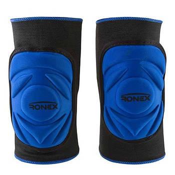 Наколенник эластичный Ronex синий, размер L