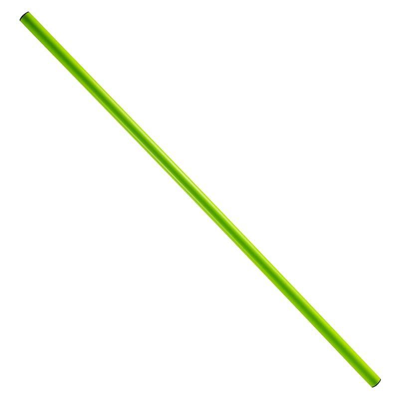 Палиця гімнастична тренувальна зелена 1.5 м (штанга)