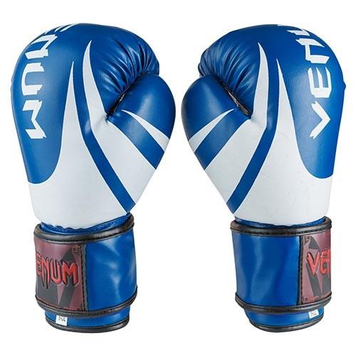 Боксерские перчатки синие 8oz Venum, DX 2145