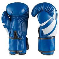 Боксерские перчатки синие 8oz Venum, DX 2145, фото 2