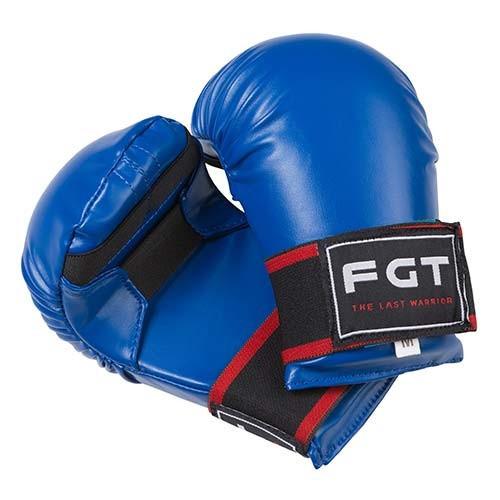 Накладки для карате FGT, PU4009, размер M, синий