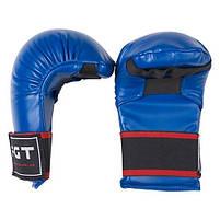 Накладки для карате FGT, PU4009, размер M, синий, фото 2