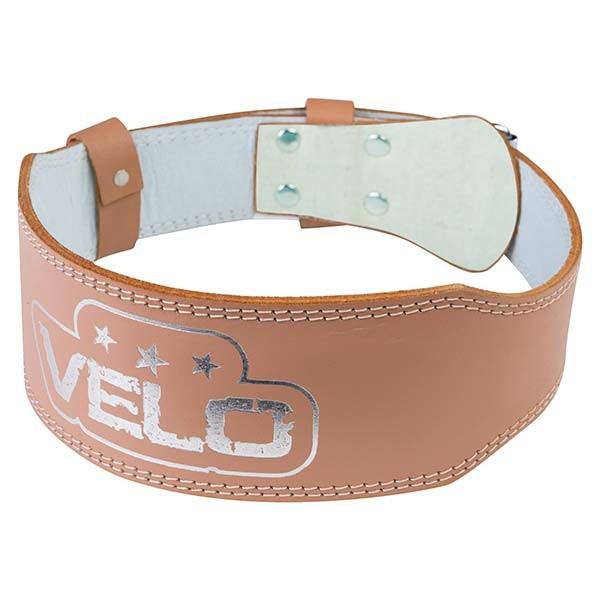 Пояс атлетический узкий Velo, кожа, размер M