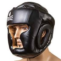 Боксерский шлем Fire&Ice закрытый Flex L черный (FR-I475/L2), фото 3