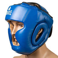 Боксерский шлем Fire&Ice закрытый Flex L синий (FR-I475/L1), фото 2