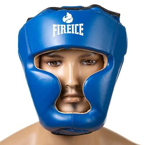 Боксерский шлем Fire&Ice закрытый Flex L синий (FR-I475/L1)