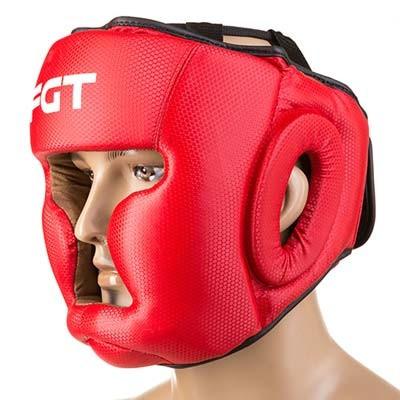 Боксерский шлем FGT закрытый Flex M красный (F475CR/M3)