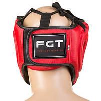 Боксерский шлем FGT закрытый Flex M красный (F475CR/M3), фото 2