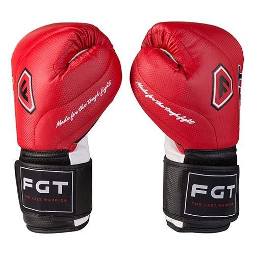 Боксерські рукавички World Sport червоні 8oz FGT, Cristal 2815