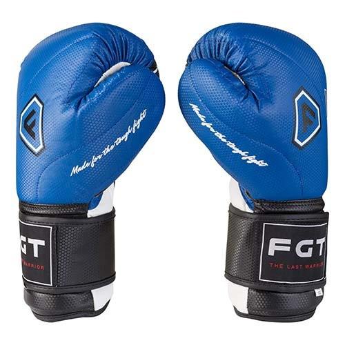 Боксерські рукавички FGT сині 12oz, Cristal 2815