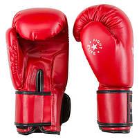 Боксерські рукавички червоні 12oz Top Ten DX-3148, фото 2