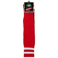 Гетры World Sport взрослые красные 39-45, терилен, махровый носок, фото 2