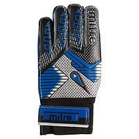 Воротарські рукавички MITRE Latex Foam, синій, р. 9, фото 2