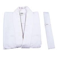 Кимоно дзюдо Combat Sports белое, 16oz 28-30 / 120см, фото 3
