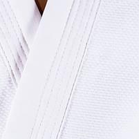 Кімоно дзюдо Combat Sports біле, 16oz ріст 140см, фото 2