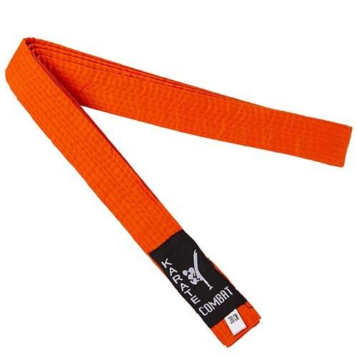 Пояс для кімоно помаранчевий Combat Sports 280 см