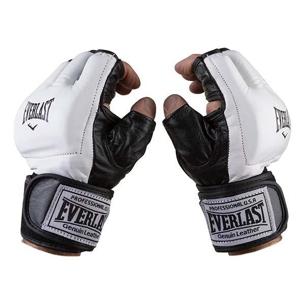 Перчатки для единоборств Everlast, MMA, кожа, размер M