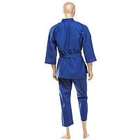 Кімоно дзюдо синє Combat Sports 16oz зріст 130 см, фото 2