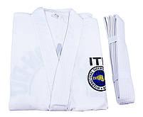 Кимоно тхеквондо ITF, 250г рост 130см, фото 5
