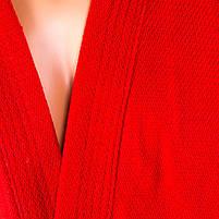 Самбовка червона Mizuno, куртка+шорти 550г, ріст 140см, фото 3