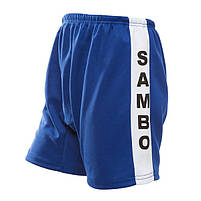 Самбовка синя Mizuno, куртка+шорти 550г, зріст 180см, фото 2
