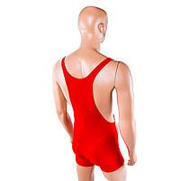 Трико борцовское World Sport красное, рост 150, фото 2