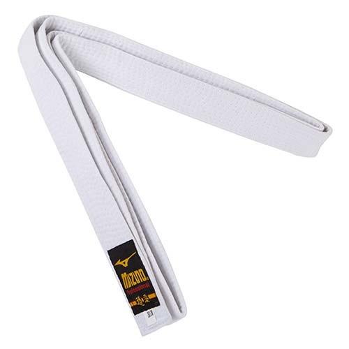 Пояс для кімоно білий Mizuno 270 см