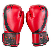 Боксерские перчатки 12oz Venum, DX 55 (VM55-12RS), фото 4