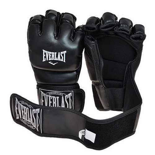 Рукавички єдиноборств чорні Everlast MMA, DX364, розмір XL