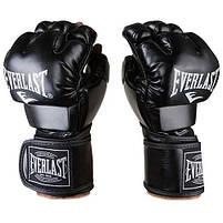 Рукавички єдиноборств чорні Everlast MMA, DX364, розмір XL, фото 2
