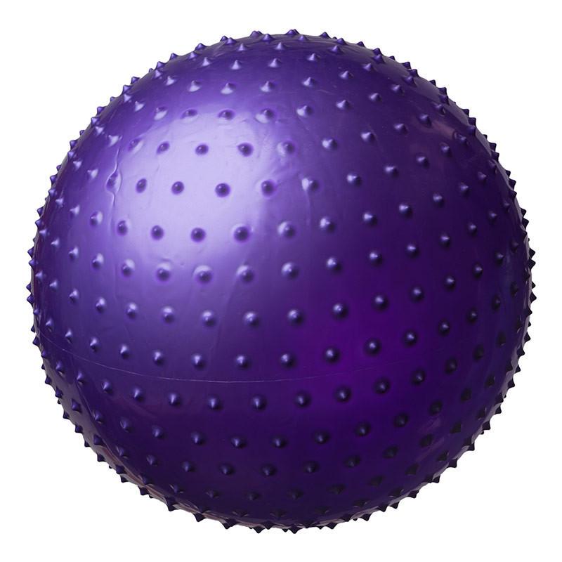 Фитбол World Sport массажный 75см фиолетовый KingLion