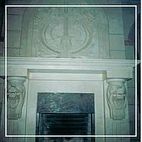 Эксклюзивный каминный портал из мрамора: цена производителя., фото 1