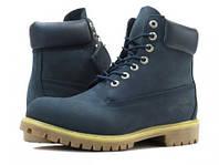 Женские ботинки Timberland 6 inch Blue (Made in China)