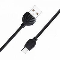 USB кабель Awei CL-Type 62-C 2.5 A, 1м, чорний