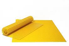 Кольорова вощина 26х41см Жовтий