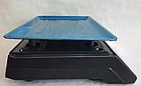 Торговые Весы электронные с калькулятором Crystal 50 kg 6V Черный, весы торговые электронные,  весы для, фото 4