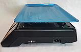 Торговые Весы электронные с калькулятором Crystal 50 kg 6V Черный, весы торговые электронные,  весы для, фото 5