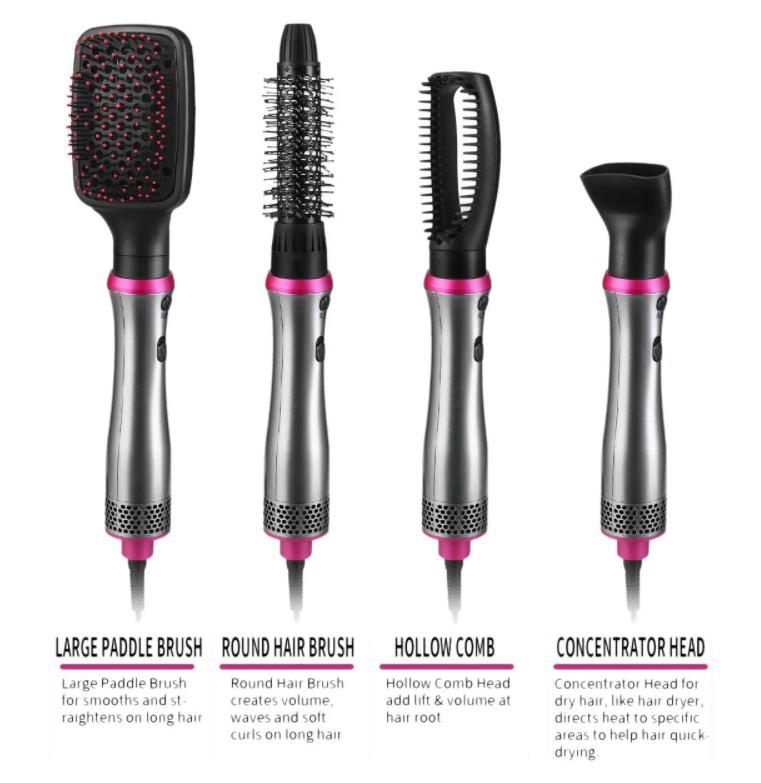 Профессиональный многофункциональный фен 4в1 VGR V408, сушка волос, фен для волос, Красота и здоровье