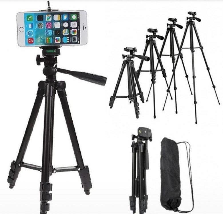 Nikon / Штатив для фотоаппарата трипод 3120A + чехол, штативы переносные, оборудование для съемки, Товары для дома и