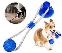 Игрушка для домашних животных, Мяч на веревке с присоской, мяч для собак, игрушка для собак, Товары для