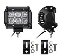 Фара LED (6 LED) 5D-18W-SPOT, Светодиодная автофара на крышу противотуманка, автомобильная фара, лампа на,