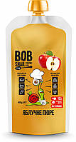 "Пюре фруктове ""Яблуко"" пастеризоване 400 г Bob Snail"