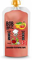 "Пюре фруктове ""Банан"" пастеризоване 400 г Bob Snail"