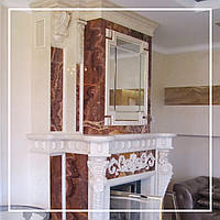 Классический двухъярусный каминный портал: цена, фото, описание., фото 1